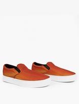 Saturdays Surf NYC Orange Vass Canvas Sneakers