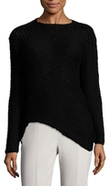 Narciso Rodriguez Mesh Asymmetrical Sweater