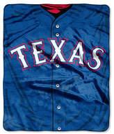 Northwest Company Texas Rangers Plush Jersey Throw Blanket