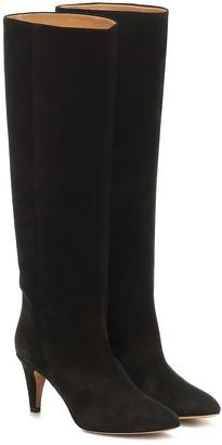 Isabel Marant Latsen suede knee-high boots