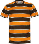 Ami T Shirt 206-10925 Brown / Orange