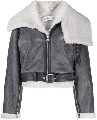 J.W.Anderson oversized funnel collar jacket