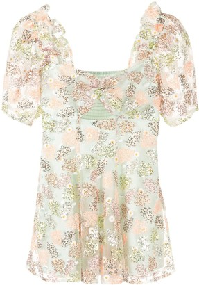 Alice McCall floral print ruffle dress