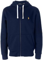 Polo Ralph Lauren zip up hoodie - men - Cotton/Polyester - S