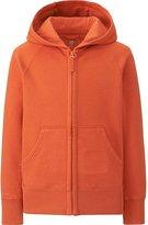 Uniqlo Kids Sweat Full-Zip Long Sleeve Hooded Jacket