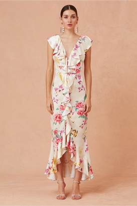 Keepsake ARROWS GOWN creme botanic floral