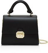 Ted Baker Verina Faux-Pearl Lock Lady Leather Satchel