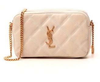Saint Laurent Becky Double Zip Pouch Bag