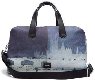 Paul Smith London Canvas Holdall - Mens - Multi