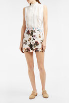 Paul & Joe Floral-Print Mini Skirt