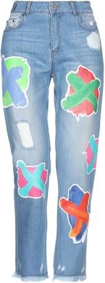 House of Holland Denim pants - Item 42737176JT