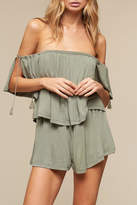 The Jetset Diaries Sage Highland Romper
