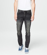 Super Skinny Dark Grey Wash Reflex Jean