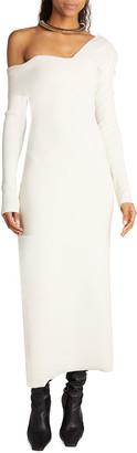 Proenza Schouler Off-the-Shoulder Bandage Knit Dress