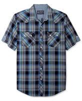 American Rag Shirt, Branson Plaid Short Sleeve Shirt