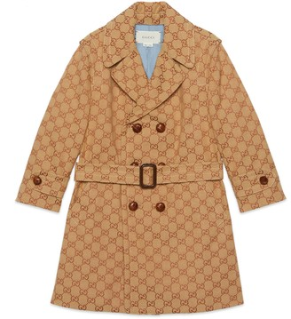 Gucci Children's GG canvas coat