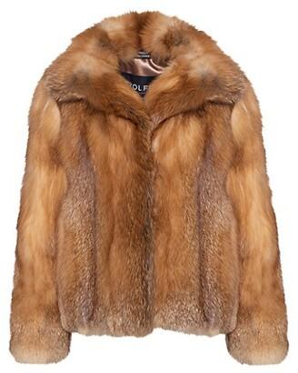 Wolfie Fur Red Fox Fur Jacket