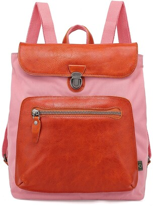 Tsd Valley Trail Coated Canvas Backpack