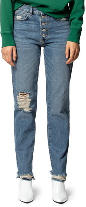 Zadig & Voltaire Eagle Music Straight Leg Jeans