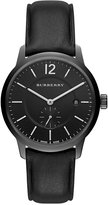 Burberry Men's Swiss Black Leather Strap Watch 40mm BU10003