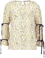Fashion Union MUMBI Blouse lemon base floral