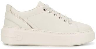 Salvatore Ferragamo Gancini low top sneakers