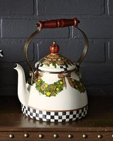 Mackenzie Childs MacKenzie-Childs EVERGREEN 2 QUART TEA KETTLE