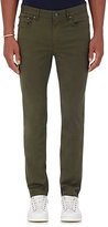Michael Kors Men's Twill Five-Pocket Pants-GREEN