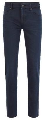 HUGO BOSS Skinny Fit Jeans In Dark Blue Super Stretch Denim - Dark Blue