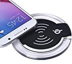 Wireless Charger, TONSEE Qi Wireless Charger Charging Pad For Samsung Galaxy S7/S7 Edge (Black)