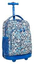 J World J-World Sunny Rolling Backpack - Geo Blue