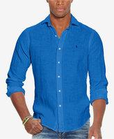 Polo Ralph Lauren Men's Estate Linen Sport Shirt