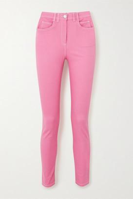 Balmain High-rise Skinny Jeans - Pink