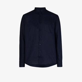 Vilebrequin Caroubis linen shirt