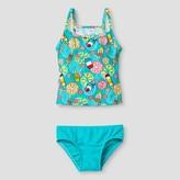 Floatimini Floatmini Toddler Girls' Popsicle Tankini 2-Piece Set - Blue