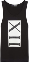 DKNY + Cara Delevingne Printed Cotton-Jersey Tank