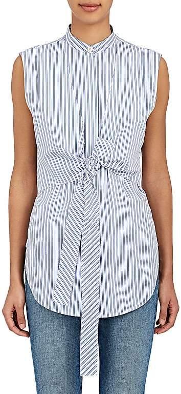 Helmut Lang Women's Striped Cotton Layered Shirt