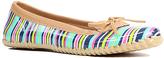 Western Chief Navy Bright Stripe Skimmer Duck Shoe