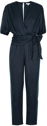 Joie Adalie navy cupro jumpsuit