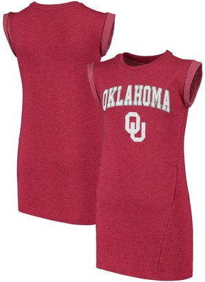 Colosseum Girls Youth Crimson Oklahoma Sooners Betty Tee Dress
