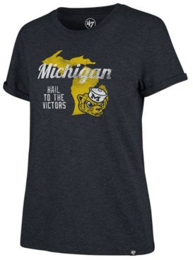 '47 Women's Michigan Wolverines Regional Match Triblend T-Shirt