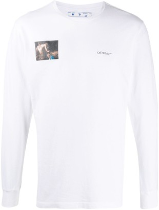 Off-White Caravaggio long-sleeve T-shirt