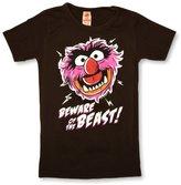 Logoshirt Muppets Beware Of The Beast Logo Boy's T-Shirt