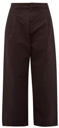 Craig Green Pleated Cotton Crepe Worker Trousers - Mens - Black