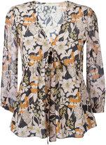 L'Autre Chose floral print blouse - women - Silk - 40