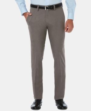 Haggar Men's Cool 18 Pro Slim-Fit 4-Way Stretch Moisture-Wicking Non-Iron Dress Pants