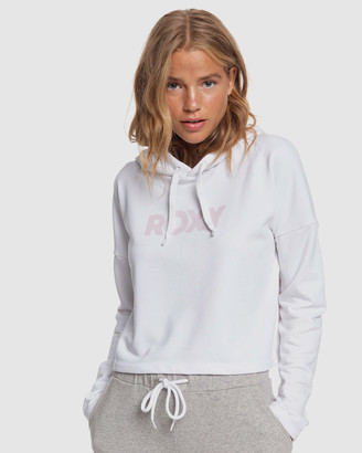 Roxy Womens Fabulous Party Cropped Sports Hoodie