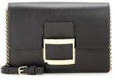 Roger Vivier Viv' Icon Micro Leather Shoulder Bag