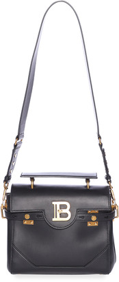 Balmain BBuzz 23 Calfskin Leather Shoulder Bag