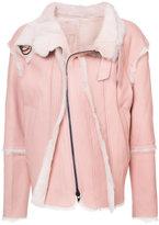 A.F.Vandevorst shearling jacket
